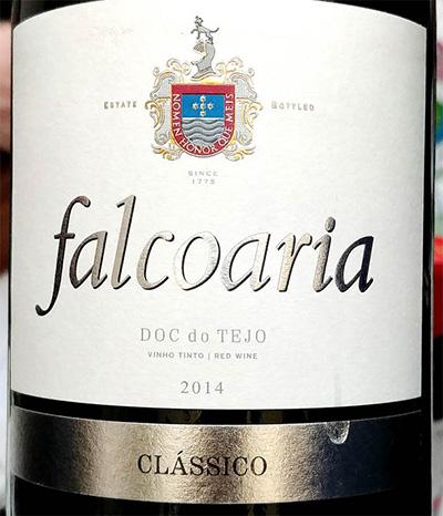 Отзыв о вине Falcoaria Classico DOC de Tejo tinto 2014