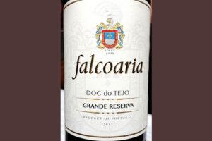 Отзыв о вине Falcoaria Grande Reserva DOC de Tejo tinto 2015