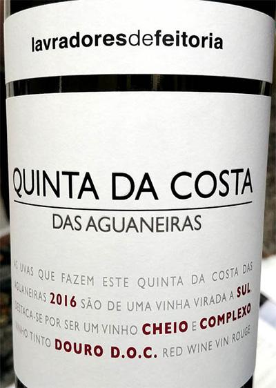 Отзыв о вине Lavradores de Feitoria Quinta da Costa Das Aguaneiras 2016