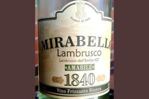 Отзыв о полуигристом вине Mirabello Lambrusco Amabile vino frizzanto