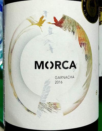 Отзыв о вине Morca Garnacha 2016