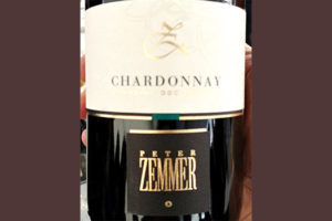 Отзыв о вине Peter Zemmer Chardonnay Alto Adige Sudtirol 2018