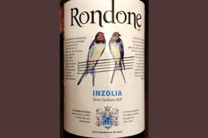 Отзыв о вине Rondone Inzolia Terre Siciliane 2017