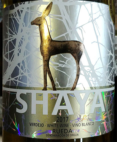 Отзыв о вине Shaya vino blanco Rueda 2017