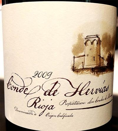 Отзыв о вине Conde de Hervias Rioja 2009