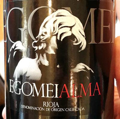 Отзыв о вине Egomei Alma Rioja 2009
