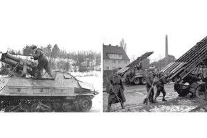 краткий обзор реактивных систем залпового огня нацистской Германии во время ВМВ