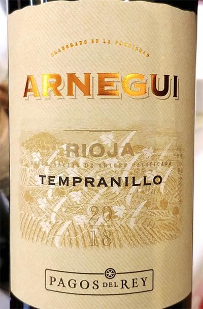 Отзыв о вине Pagos del Rei Arnegui Tempranillo Rioja 2018