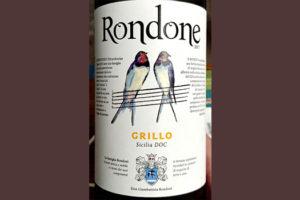 Отзыв о вине Rondone Grillo Sicilia DOC 2017