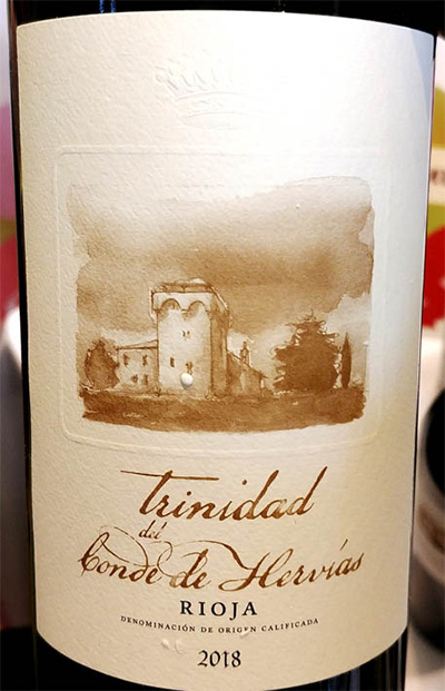 Отзыв о вине Trinidad del Conde de Hervias Rioja 2018