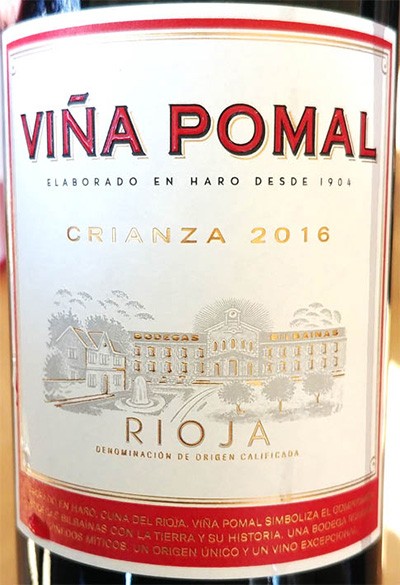 Отзыв о вине Vina Pomal Crianza 2016