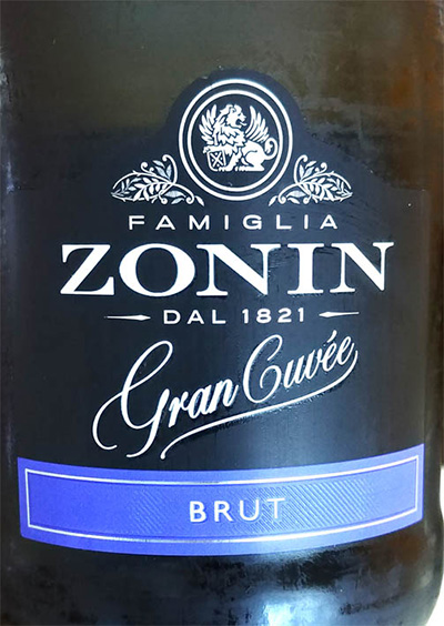 Отзыв об игристом вине Zonin Gran Cuvee brut