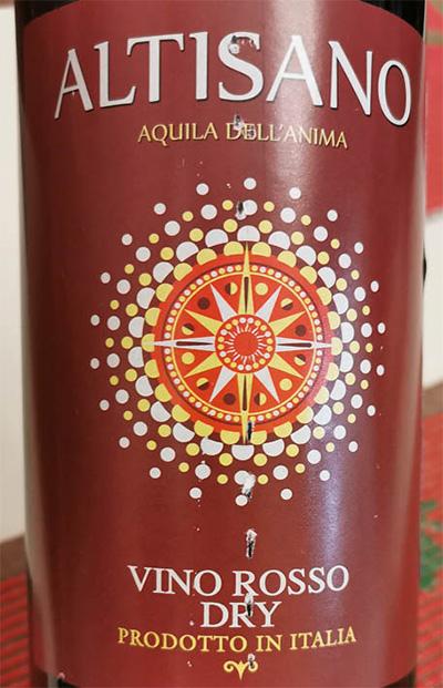 Отзыв о вине Altisano Aquila dell'Anima Vino rosso dry 2017