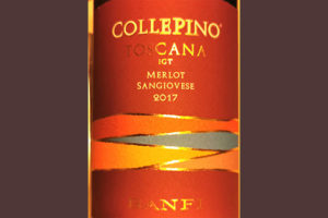Отзыв о вине Banfi Collepino Merlot Sangiovese Toscana 2017
