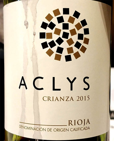 Отзыв о вине Bodegas Murua Aclys Crianza Rioja 2015