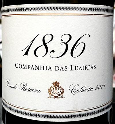 Отзыв о вине Companhia das Lezirias 1836 Grande Reserva colheita 2015
