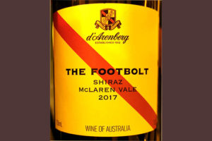 Отзыв о вине D'Arenberg The Footbolt Shiraz McLaren Vale Australia 2017