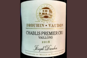 Отзыв о вине Drouhin Vaudon Chablis Premier Cru 2018