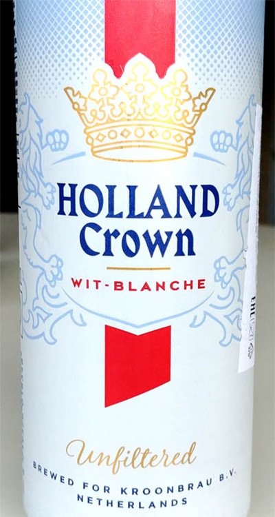 Отзыв о пиве Holland Crown wit-blanche unfiltered