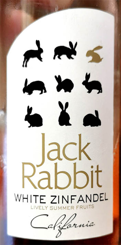 Отзыв о вине Jack Rabbit White Zinfandel rose 2018