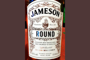 Отзыв о виски Jameson Round Irish Whiskey Triple Distilled 1 liter