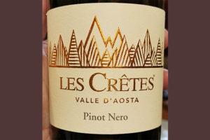 Отзыв о вине Les Cretes Pinot Nero Valle d'Aosta 2015