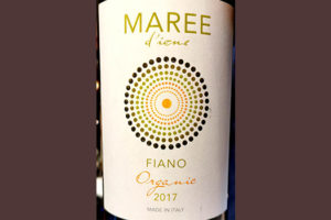 Отзыв о вине Megale Hellas Maree d'Ione Fiano organic 2017