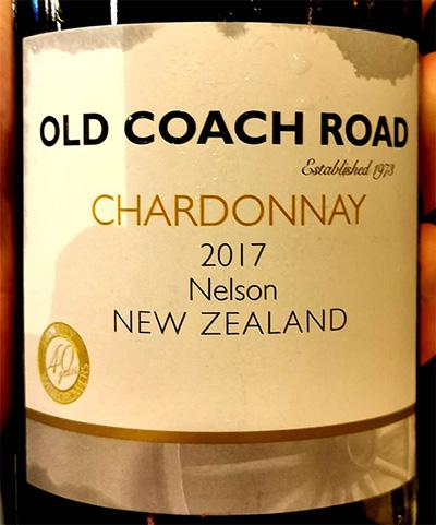 Отзыв о вине Old Coach Road Chardonnay New Zealand 2017
