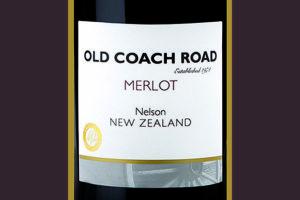 Отзыв о вине Old Coach Road Merlot Nelson New Zealand 2016