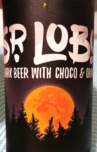 Отзыв о пиве Sr. Lobo Sweet Stout