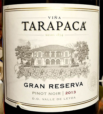 Отзыв о вине Vina Tarapaca Gran Reserva Pinot Noir 2013