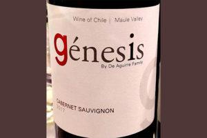 Отзыв о вине Aguerre Family Genesis Cabernet Sauvignon Maule Valley Chile 2017