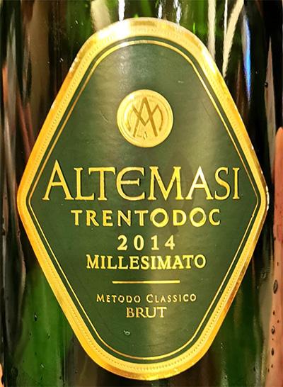 Отзыв об игристом вине Cavit Altemasi Trento DOC Millesimato brut 2014