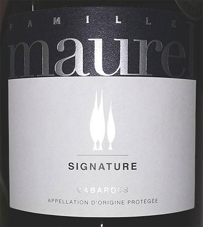 Отзыв о вине Famille Maurel Signature Cabardes 2016