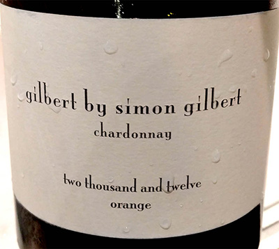 Отзыв о вине Gilbert by Simon Gilbert Chardonnay Orange 2012