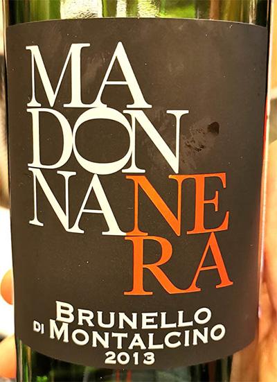 Отзыв о вине Madonna Nera Brunello di Montalcino 2013
