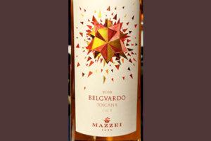 Отзыв о вине Mazzei Belgvardo Rosato Toscana 2018