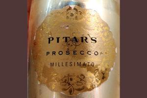 Отзыв об игристом вине Pitars Prosecco Millesimato extra dry
