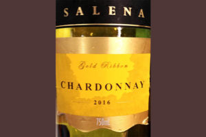 Отзыв о вине Salena Gold Ribbon Chardonnay Australia 2016