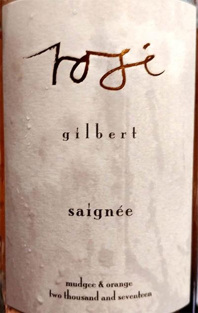 Отзыв о вине Simon Gilbert Rose Gilbert Saignee Mudgee & Orange 2017