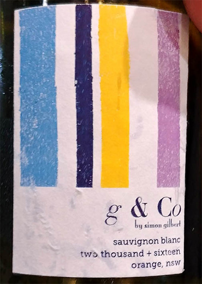 Отзыв о вине Simon Gilbert g & Co Sauvignon Blanc Orange 2016