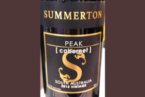 Отзыв о вине Summerton Peak Cabernet South Australia 2015