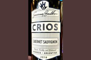 Отзыв о вине Susana Balbo Dominio del Plata Crios Cabernet Sauvignon 2018