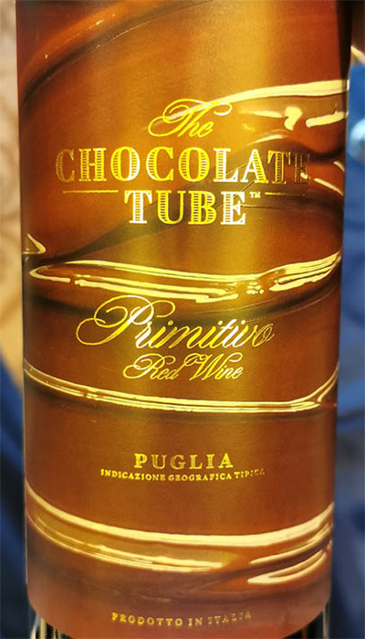 Отзыв о вине The Chocolate Tube Primitivo Puglia 2017