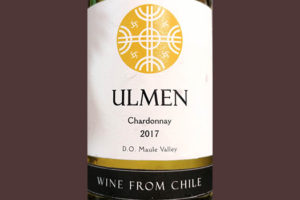 Отзыв о вине Ulmen Chardonnay Maule Valley Chile 2017