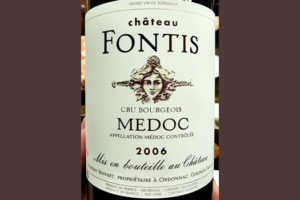 Отзыв о вине Chateau Fontis Cru Bourgeois Medoc 2006