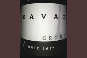Отзыв о вине Davaz Grond Flascher Pinot Noir 2017