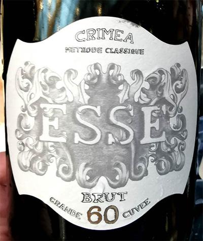 Отзыв о шампанском ESSE 60 Crimea brut Grande Cuvee methode classique