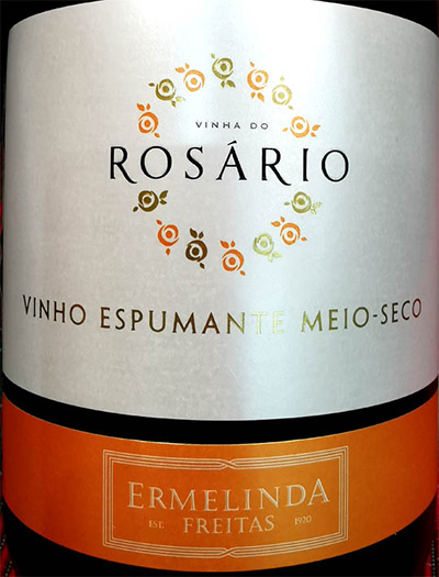 Отзыв об игристом вине Ermelinda Freitas Rosario Vinho Espumante meio-seco