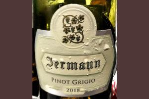 Отзыв о вине Jermann Pinot Grigio 2018